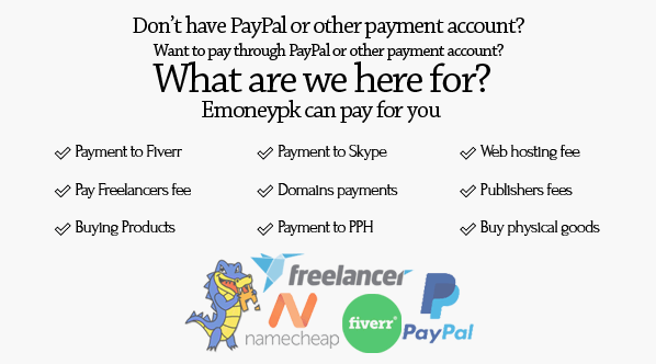 is paypal available in pakistan