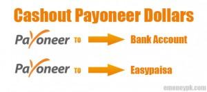 Cashout payoneer dollars