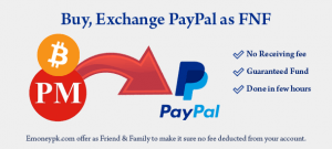 top up paypal as fnf