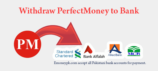 cashout perfect money pakistan