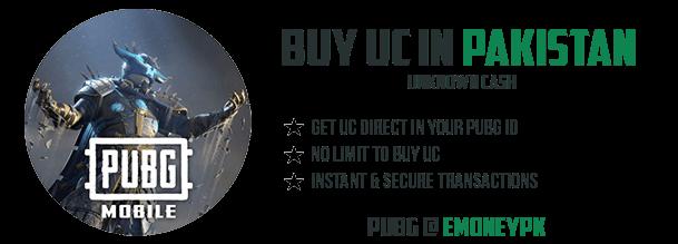 Buy Pubg UC in Pakistan