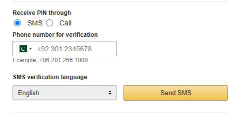 amazon-otp-verification