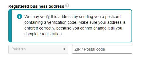 verify address on amazon pakistan